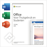 MICROSOFT OFFICE HOME & STUDENT 2019 NL