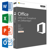 MICROSOFT OFFICE FOR MAC HOME&BUSINESS 2016 NL