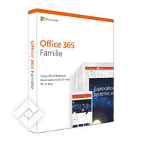 MICROSOFT OFFICE 365 HOME 12 + PROMO 3 MOIS FR