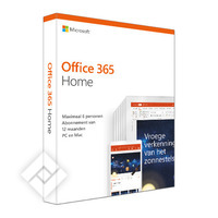 Software OFFICE 365 HOME 15M NL