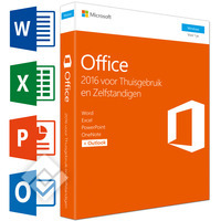 MICROSOFT OFFICE HOME & BUSINESS 2016 NL