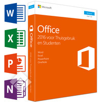 MICROSOFT OFFICE HOME&STUDENT2016NL, Laptop / Tablet pc / 2-in-1