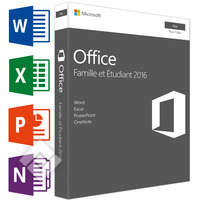MICROSOFT OFFICE FOR MAC HOME & STUDENT 2016 FR