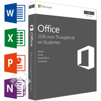 MICROSOFT OFFICE FOR MAC HOME & STUDENT 2016 NL