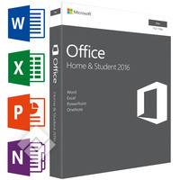 MICROSOFT OFFICE FOR MAC HOME & STUDENT 2016 EN