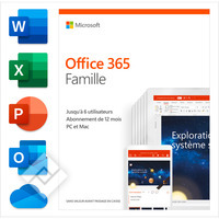 MICROSOFT OFFICE 365 HOME PREMIUM FR, Laptop / Tablet pc / 2-in-1