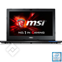 MSI GS60 6QE-014BE, Laptop / Tablet pc / 2-in-1