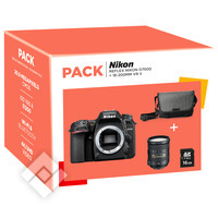 NIKON D7500 + 18-200MM VR II + BAG + SD 16GB PACK