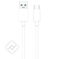 OPPO SUPER VOOC TYPE C CHARGING CABLE BLACK