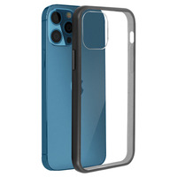 OTTERBOX Coque iPhone 12 / 12 Pro Compatible Magsafe React OtterBox - Noir / Transparent