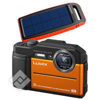PANASONIC LUMIX DC-FT7 + POWERBANK X-MOOVE