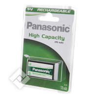 PANASONIC HIGH CAPACITY 9V X1 170MA