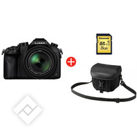 PANASONIC LUMIX DMC-FZ1000 + BAG + SD 8GB