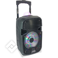 PARTY ENCEINTE ANIMEE PORTABLE 8´´/20CM - 300W AVEC USB, BLUETOOTH, FM ET MICRO (PARTY-7ASTRO)