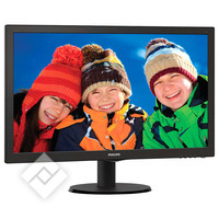 PHILIPS V-LINE 243V5LHAB BLACK