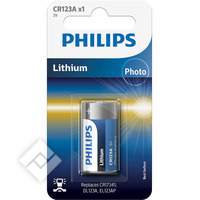 PHILIPS CR123A X1