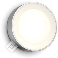 PHILIPS Hue White/Color Ambiance Daylo Wall Lantern Inox