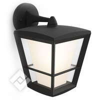 PHILIPS HUE WHITE/COLOR AMBIANCE ECONIC WALL LANTERN BLACK DOWN
