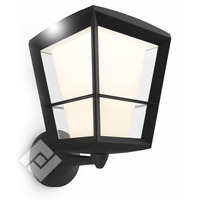 PHILIPS HUE WHITE/COLOR AMBIANCE ECONIC WALL LANTERN BLACK UP