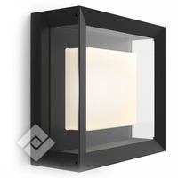 PHILIPS HUE WHITE/COLOR AMBIANCE ECONIC WALL LANTERN BLACK
