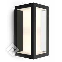 PHILIPS HUE WHITE/COLOR AMBIANCE IMPRESS WALL LANTERN BLACK 1742930P7