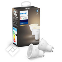 PHILIPS HUE SPOT - WARMWIT LICHT - 2-PACK