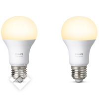 PHILIPS HUE WHITE BULB 2-PACK E27