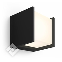 PHILIPS HUE WHITE FUZO WALL LANTERN BLACK 1744530P7