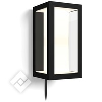 PHILIPS Hue White/Color Ambiance Impress Wall Lantern Black