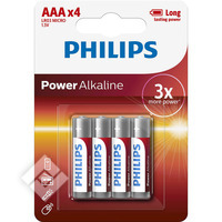 Piles LR03 POWER X4