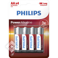 Piles LR06 POWER X4