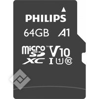 PHILIPS MICROSDXC 64GB UHS 1