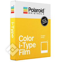 POLAROID ORIGINALS COLOR I-TYPE FILM X8
