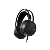 Rampage Rampage RM-K3 CASHE 7.1 surround sound RGB Gaming Headset met USB aansluiting - Zwart