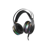 Rampage Rampage RM-K6 STARK 7.1 surround sound RGB Gaming Headset met USB aansluiting - Zwart