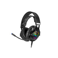 Rampage Rampage RM-K18 double 7.1 surround sound RGB gaming headset voor PC en PS4