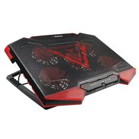 Rampage Rampage AD-RC5 Gaming laptop cooler 15 tot 17 inch