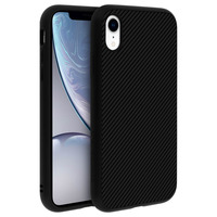 Rhinoshield Coque iPhone XR Protection Antichoc Carbone Série SolidSuit by Rhinoshield noir