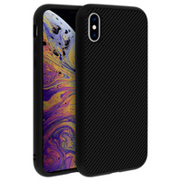 Rhinoshield Coque iPhone X/iPhone XS Protection Carbone Série SolidSuit by Rhinoshield noir