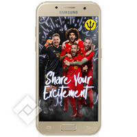 SAMSUNG A3 GOLD + RED DEVILS BACKCOVER