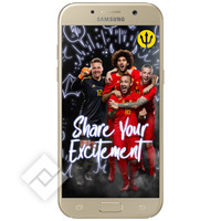 SAMSUNG A5 GOLD + RED DEVILS BACKCOVER