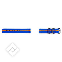 SAMSUNG BRACELET PREMIUM NATO BLUE/ORANGE GEAR SPORT