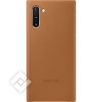 SAMSUNG LEATHER COVER CAMEL FOR GALAXY NOTE 10