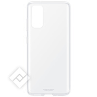 SAMSUNG Coque Samsung Galaxy S20 Silicone Ultra-Fin Original Clear Cover Transparent