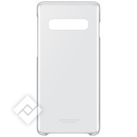 SAMSUNG Coque Galaxy S10 Protection Rigide Fine Légère Clear Cover Original Transparent