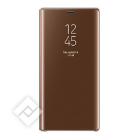 SAMSUNG CLEAR VIEW STANDING COVER BROWN GALAXY NOTE 9