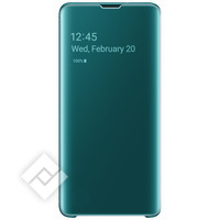 SAMSUNG CLEAR VIEW COVER GREEN GALAXY S10