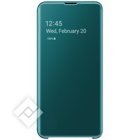 SAMSUNG CLEAR VIEW COVER GREEN GALAXY S10E