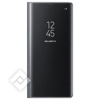 SAMSUNG CLEAR VIEW STANDING COVER BLACK GALAXY NOTE 8