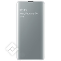 SAMSUNG CLEAR VIEW COVER WHITE GALAXY S10